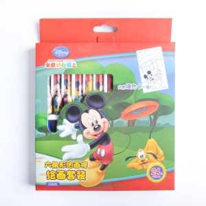 【赠荧光笔】迪士尼24色油画棒套装 24色