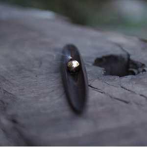 弗居 日出日落   黑檀木香器 单个